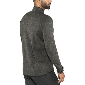Craft Grid Midlayer Herrer, black melange